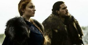 game of thrones jon snow sansa stark