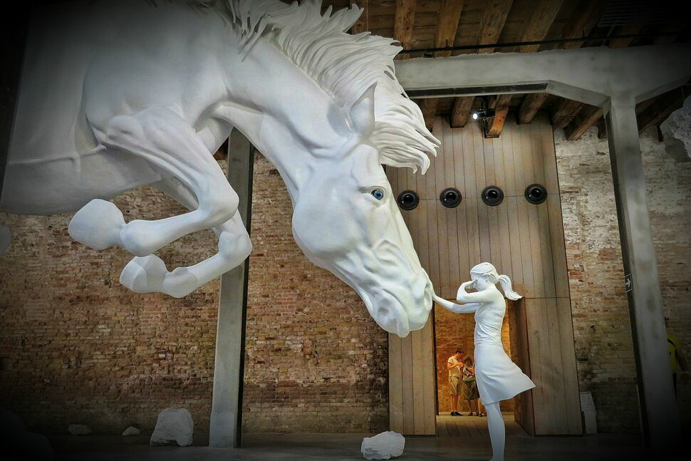 venedik bienali - the horse problem - claudia fontes
