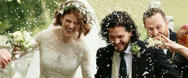 kit harington rose leslie düğün