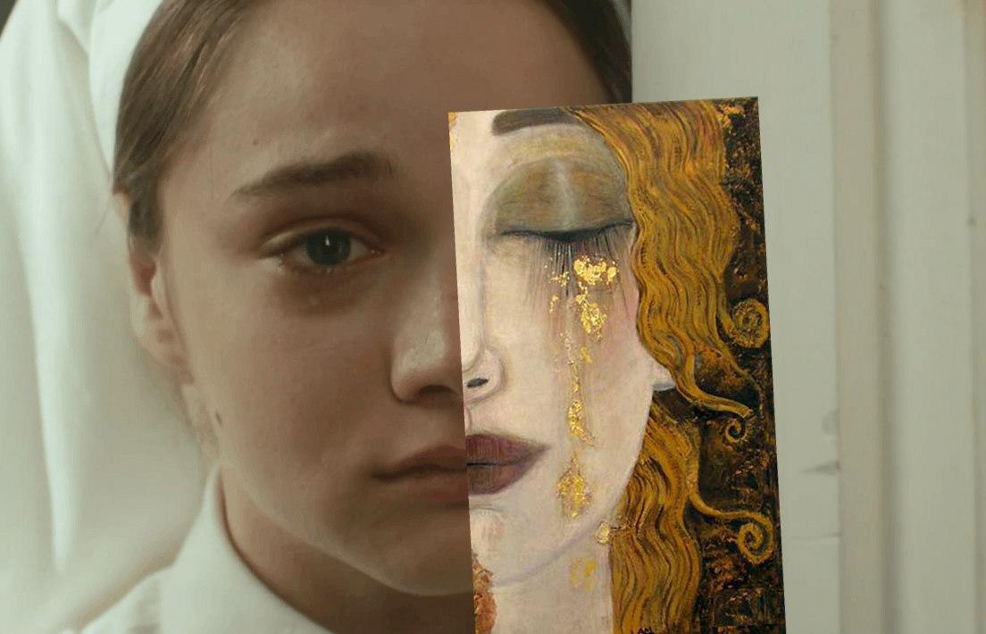 Vatanım Sensin Sanatla buluşuyor Gustav Klimt freyas tears (2)