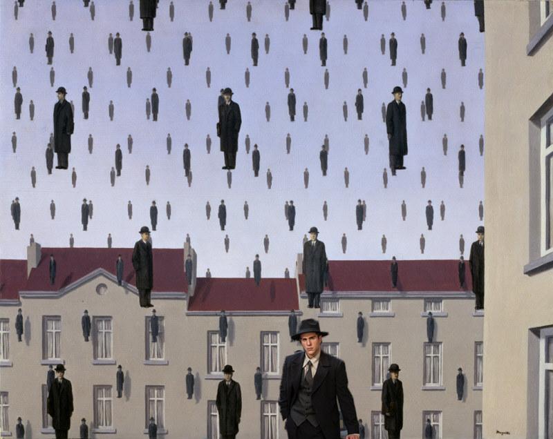 Vatanım Sensin Sanatla buluşuyor Magritte - Golconda